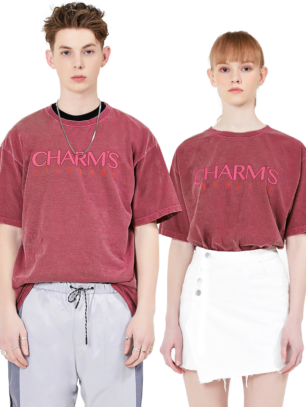 Jeunesse x Charms Signature Logo Tee Red