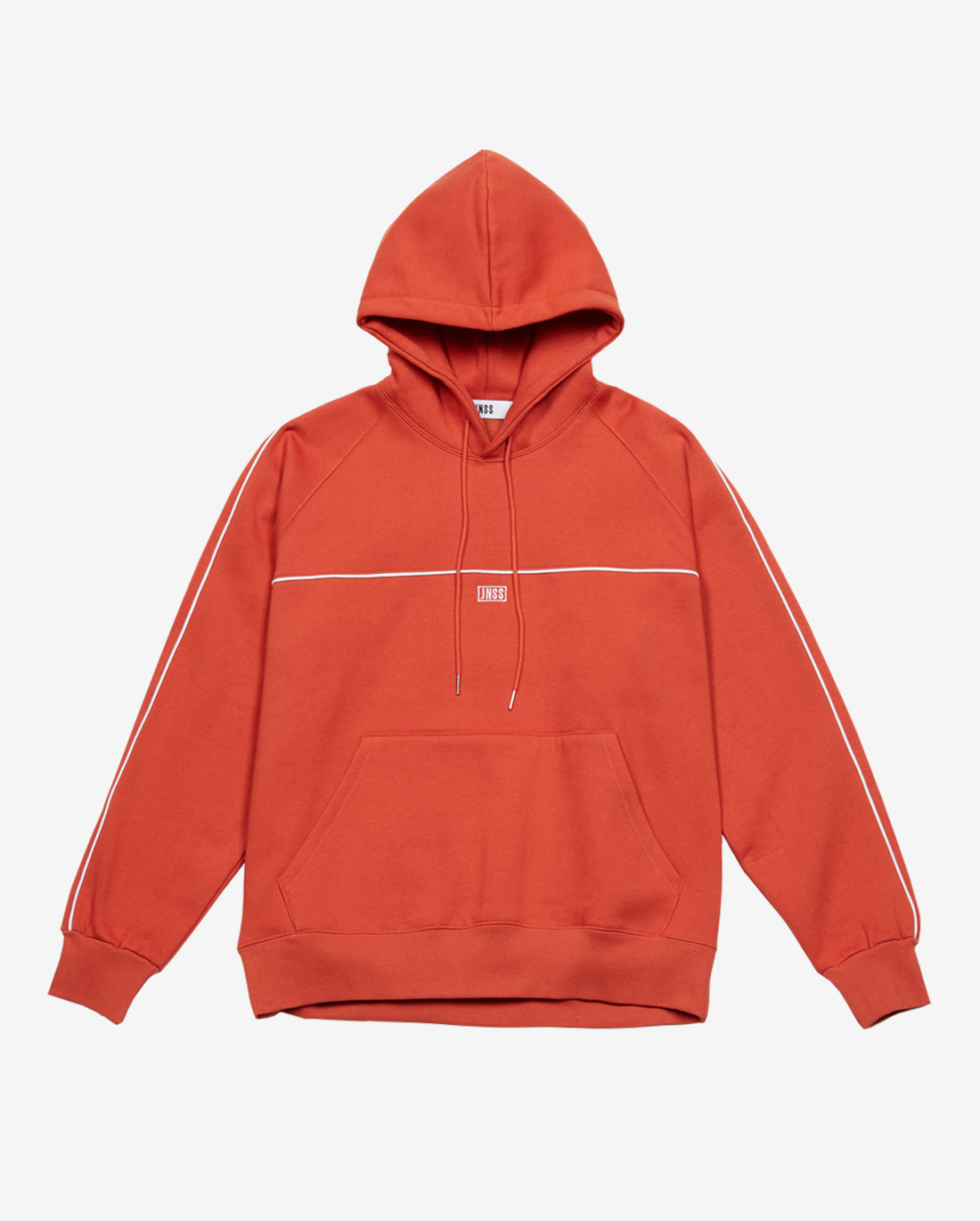 Piping Hoodie Orange (FW Version 기모)
