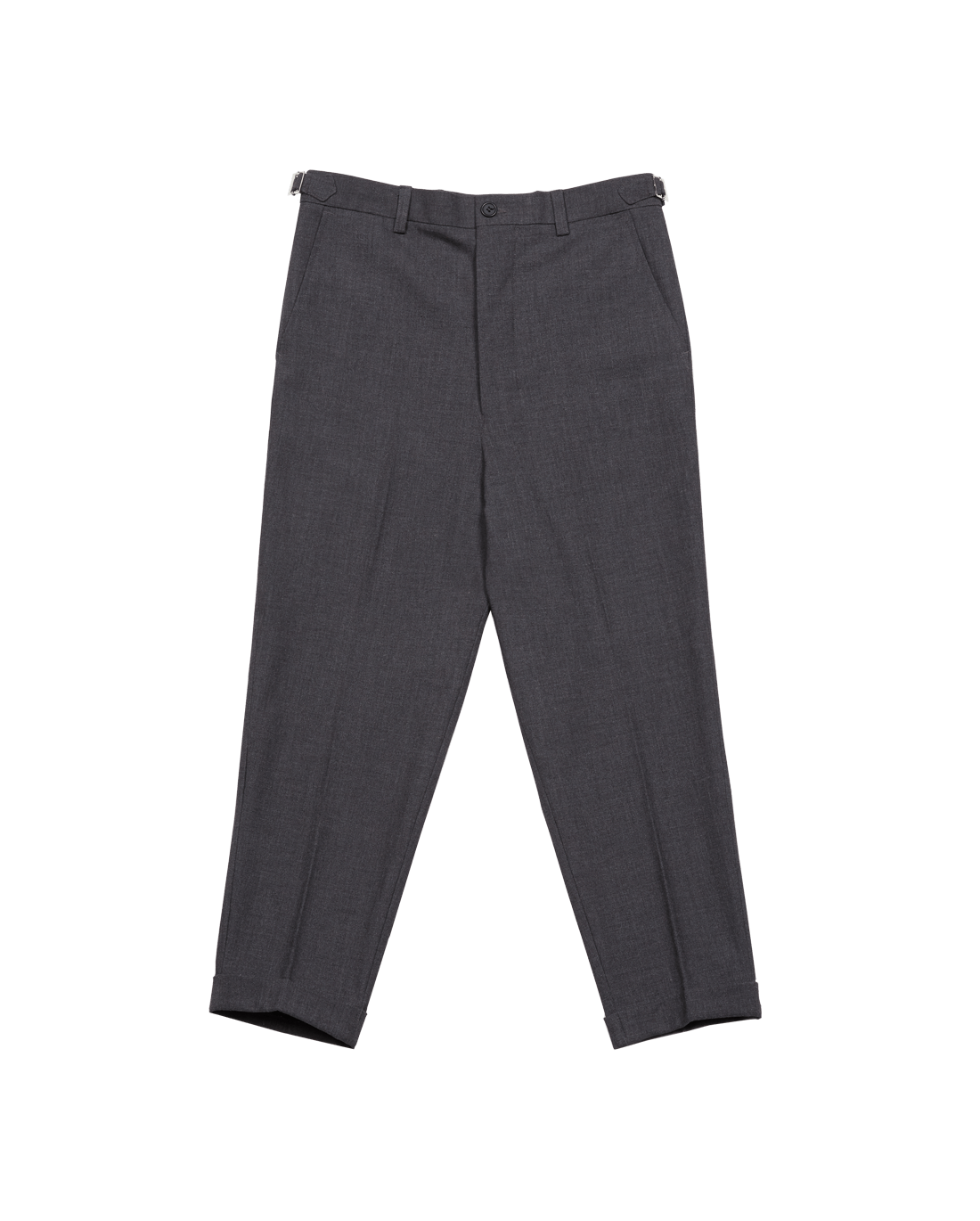Cropped Carrot-pants Grey