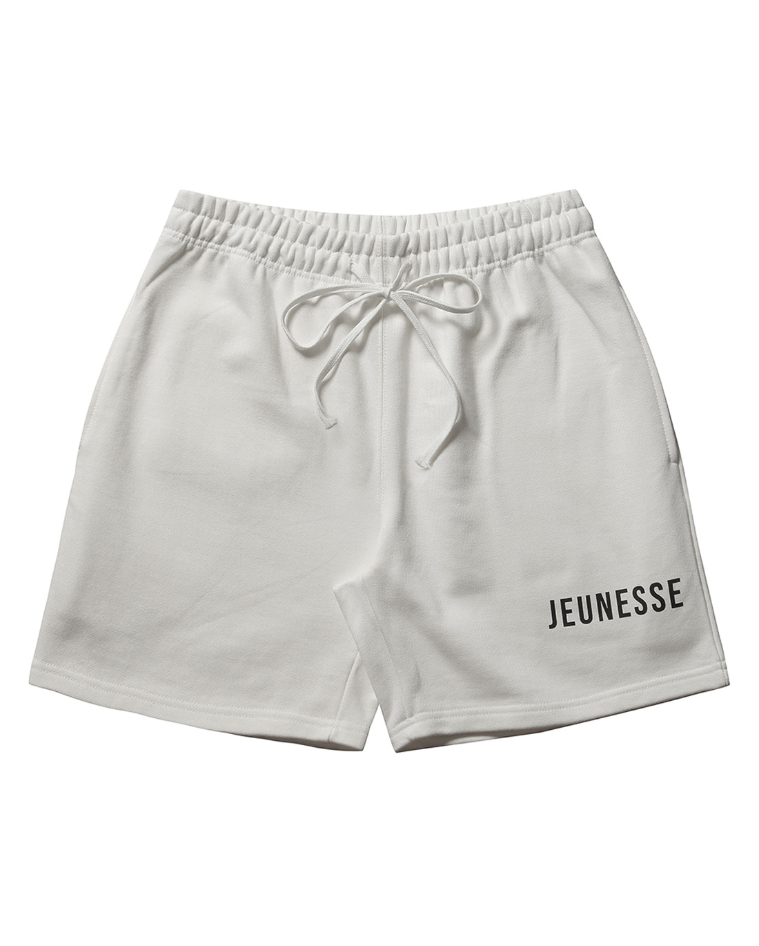 JEUNESSE Logo Sweat shorts White