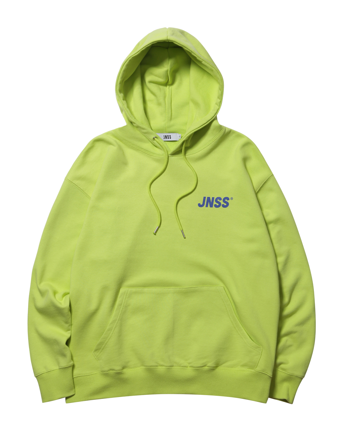 JNSS Logo Hoodie Lime (SS Version)
