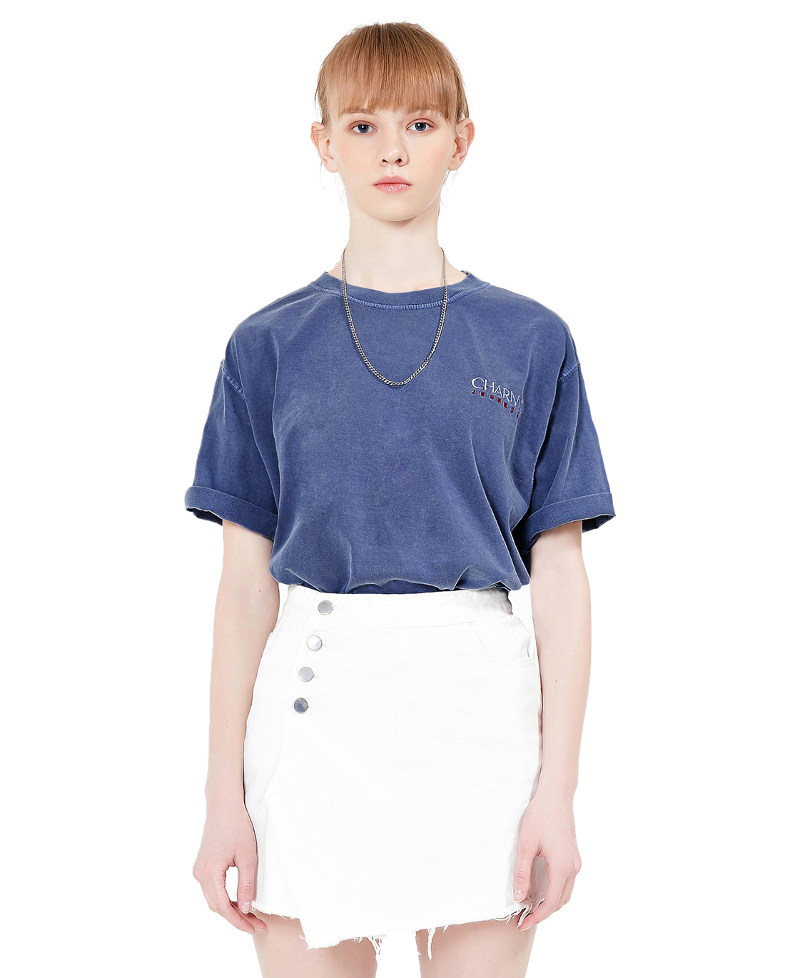 Jeunesse x Charms Small Logo Tee Blue
