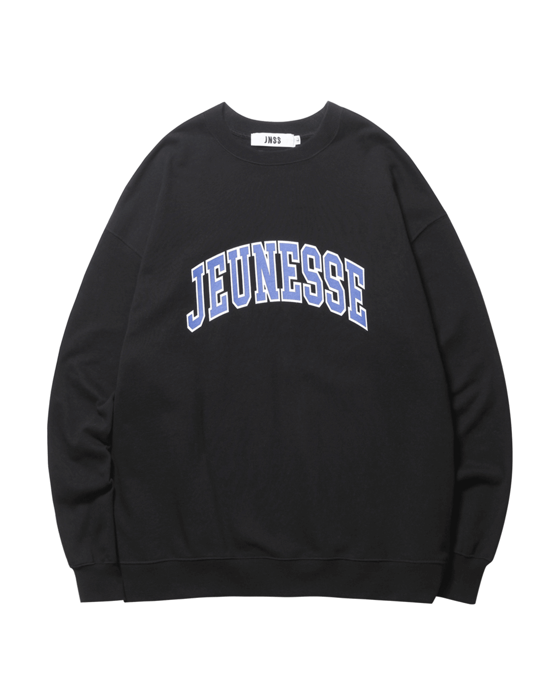 Signature Logo Sweatshirts Black (SS 쭈리)