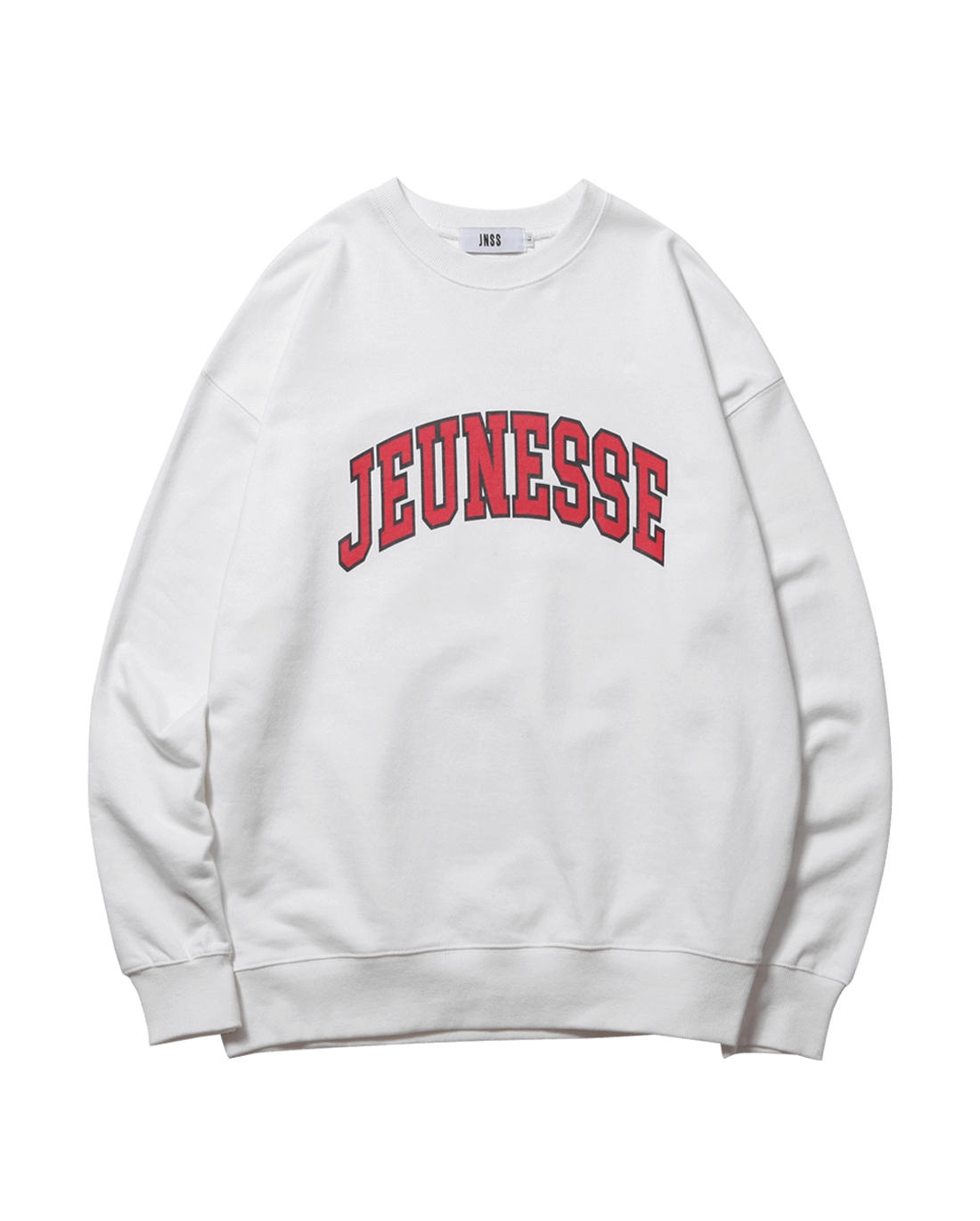Signature Logo Sweatshirts White (SS 쭈리)