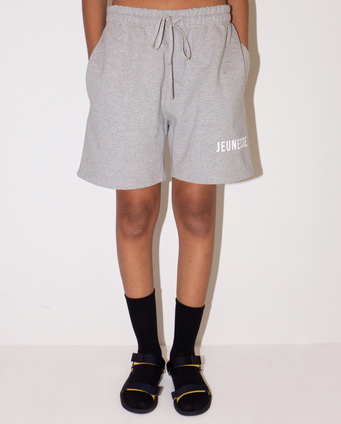 JEUNESSE Logo Sweat shorts Grey