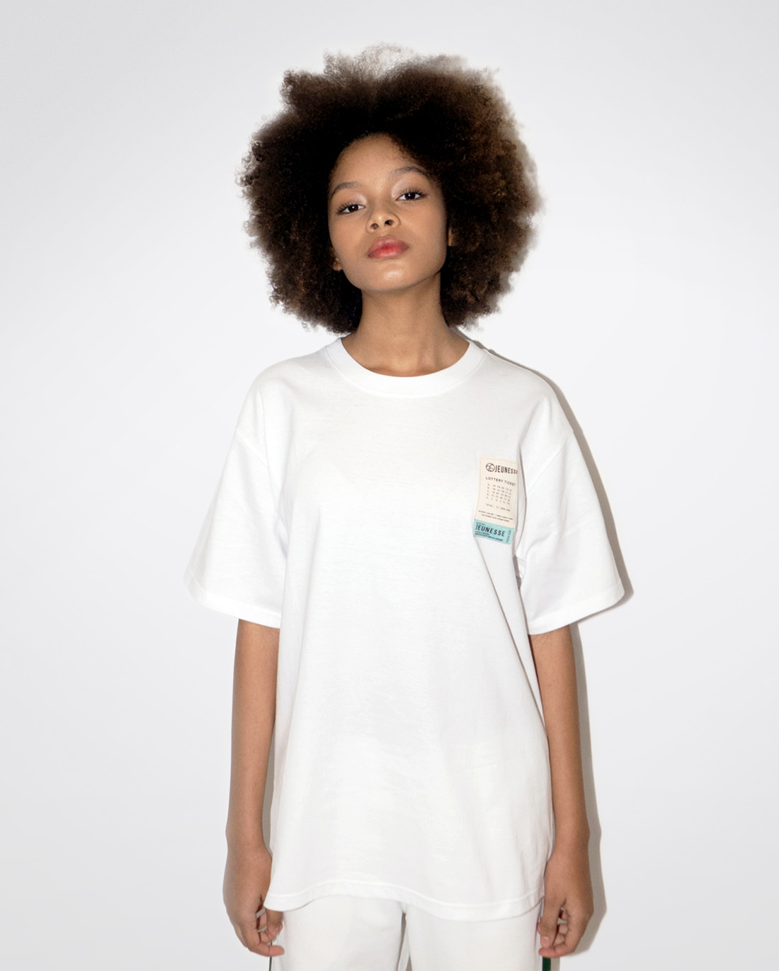 Lottery Ticket S/S Tee White
