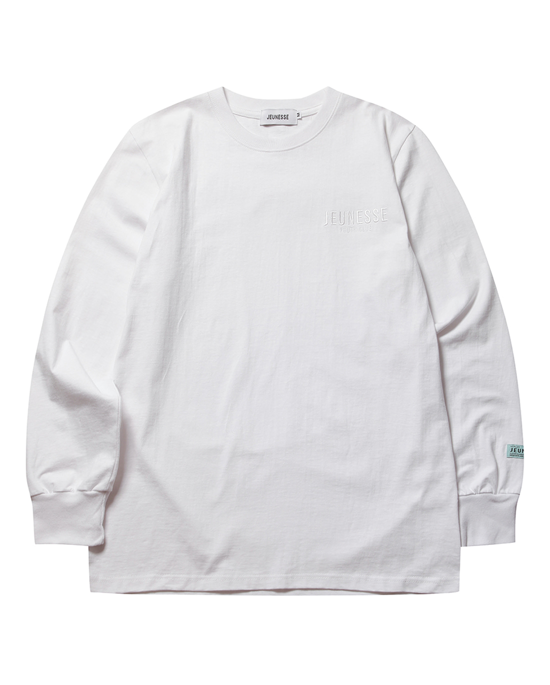 Paint Back L/S Tee White