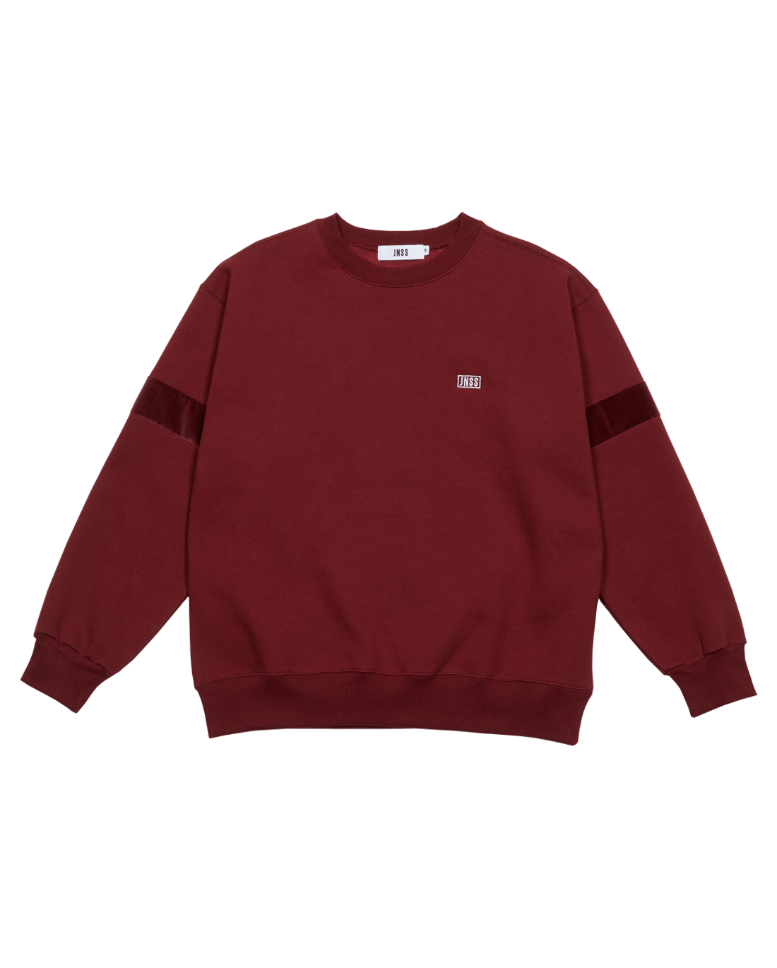 Velour Sweatshirt Wine (FW Version 기모)